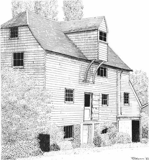 Shalford Mill, Surrey