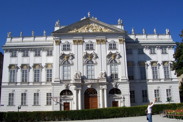 Trautsons palace in Vienna